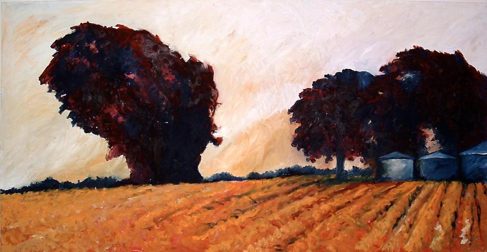 Tree Lined Field III