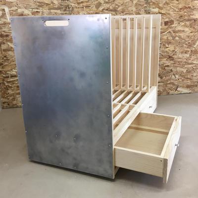 Custom Firewood Box