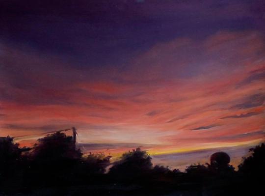 Motion Sunset I