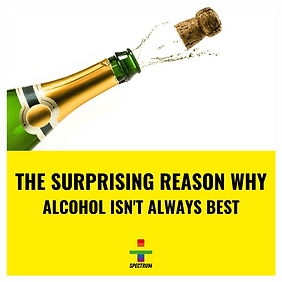 The surprising reason why alcohol isn't