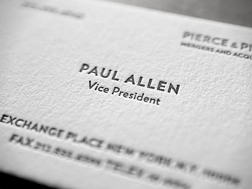 5 Must-Haves For Your Business Card Design: what you should (and shouldn't) do