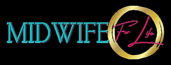 Midwife For Life Horizontal Logo Trans.p