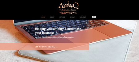 Automate Queen Homepage.png