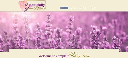 Beautifully Serene Homepage.png