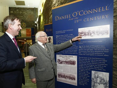 President Higgins delivers the Council of the Bar of Ireland's Daniel O'Connell lecture