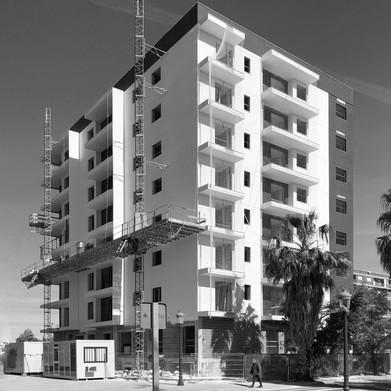 32 viviendas VPO (Valencia) en construcción
