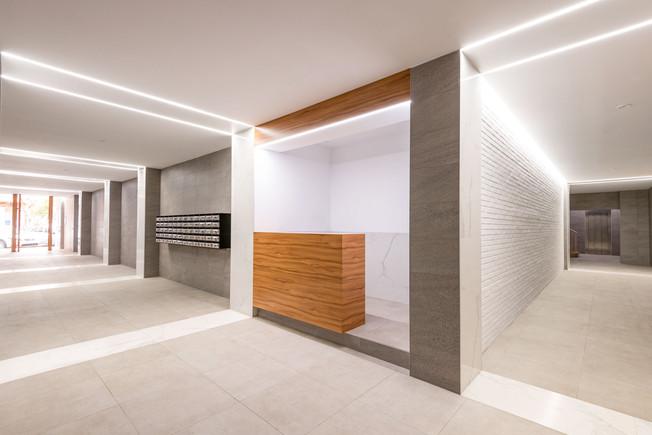 reforma interior zaguán V40 (Valencia)