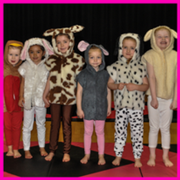 dance and gymnastics classes for children
