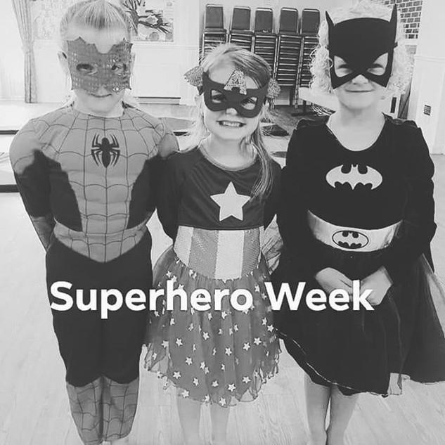 Superhero Week at Class! 💗_#superhero #