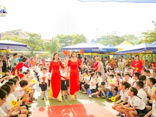 NSƯT Xuân Bắc mang nhiều thông điệp ý nghĩa tới hàng nghìn học sinh trong ngày khai giảng của trường