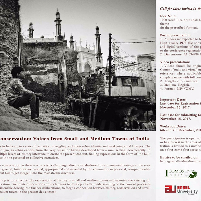 Workshop: Voices from Small and Medium Towns of India