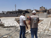 Mosul's Old Town Park Update