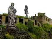 Inch Garvie : A Scottish Island & UK Statues of Disrepute