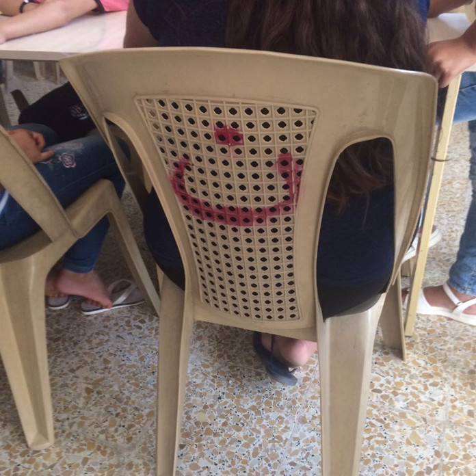 The Power of Spray Paint used in Conflict