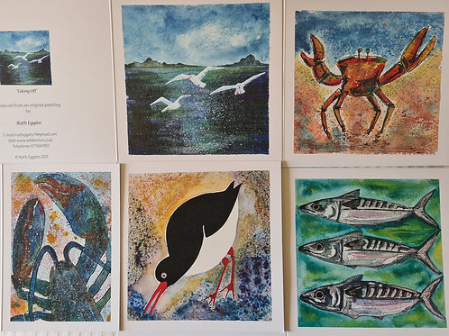 Scilly Creature Cards