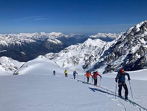 ski de randonnée châtel abondance