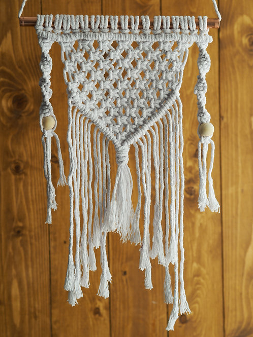 macramé kit: wall hanging