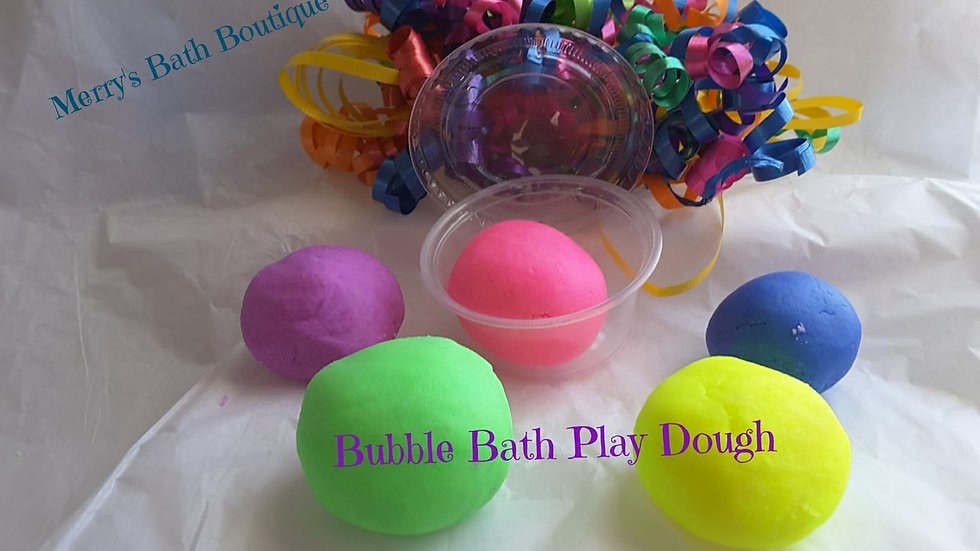 Bubble Dough (set of four)