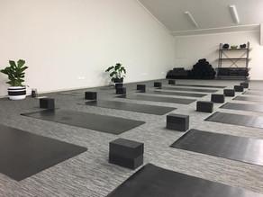 Central Yoga Studio open in Cromwell
