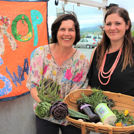 Crop Swappers enjoy the Fruit of Everyone's Labours
