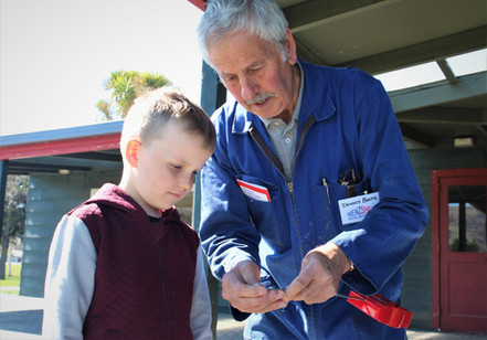 Duncan Eely(6) and Dennis Booth Repair C