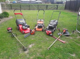 Lawn care equipment