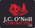 J.C. ONeill Contracting Ltd Logo - on Bl