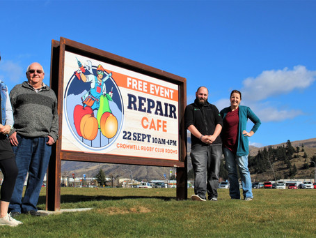 Central's First Repair Cafe