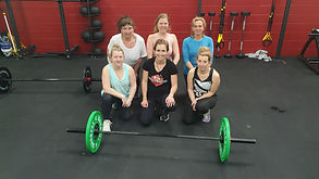 Central Fitness Picton ladies after a Barbell Lifting course