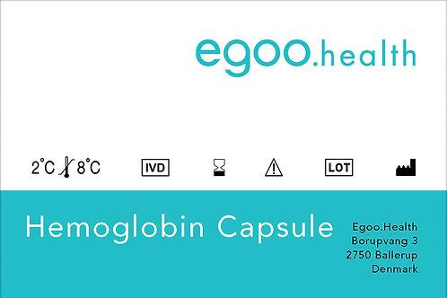 Hemoglobin Capsule (10 units + 1 control)