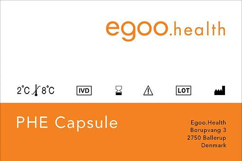 PHE Capsule (10 units + 1 control)