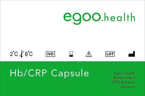 Hemoglobin/CRP Capsule (10 units + 1 control)