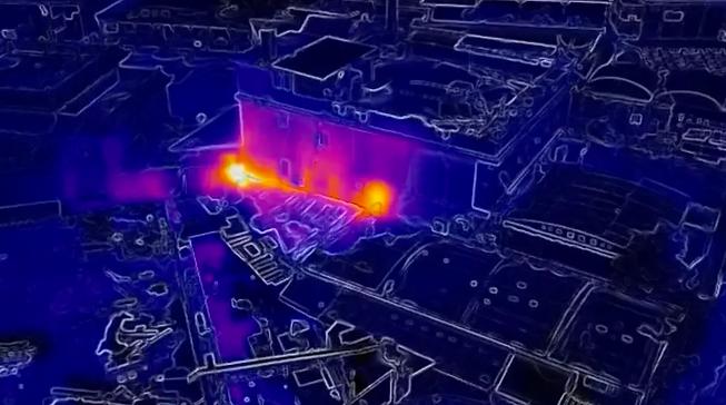Thermografie Drohne