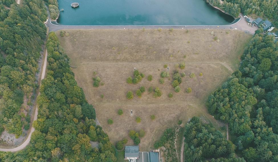 Luftaufnahmen Stausee Nonnweiler