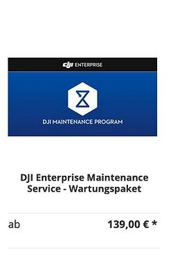 DJI Enterprise Maintenance Service - War
