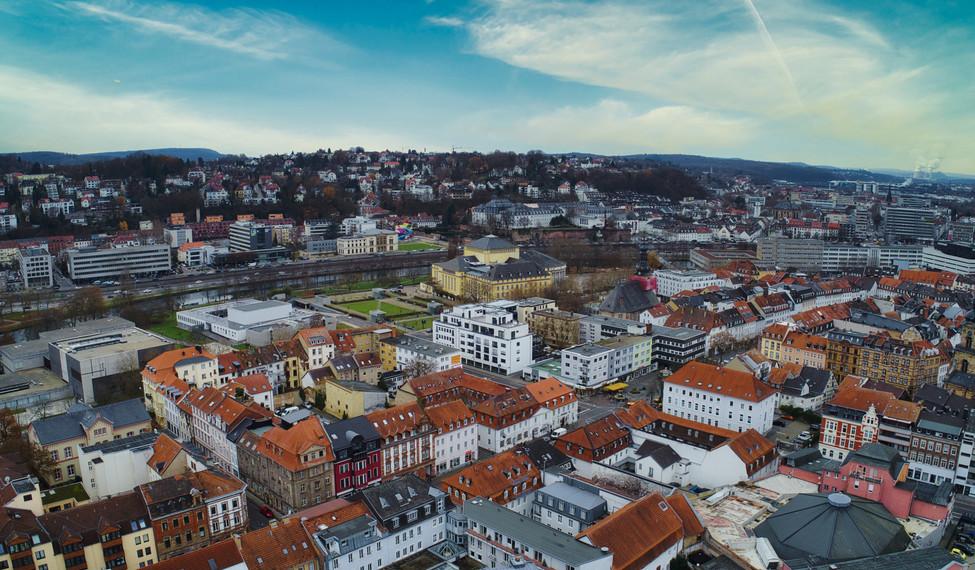 Luftaufnahme Saarbrücken