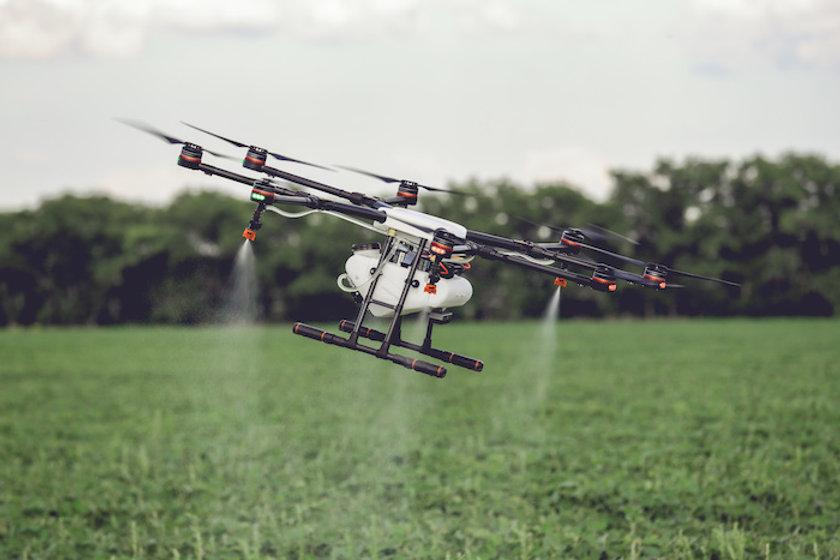 Drohnen in der Landwirtschaft Sprühdrohn