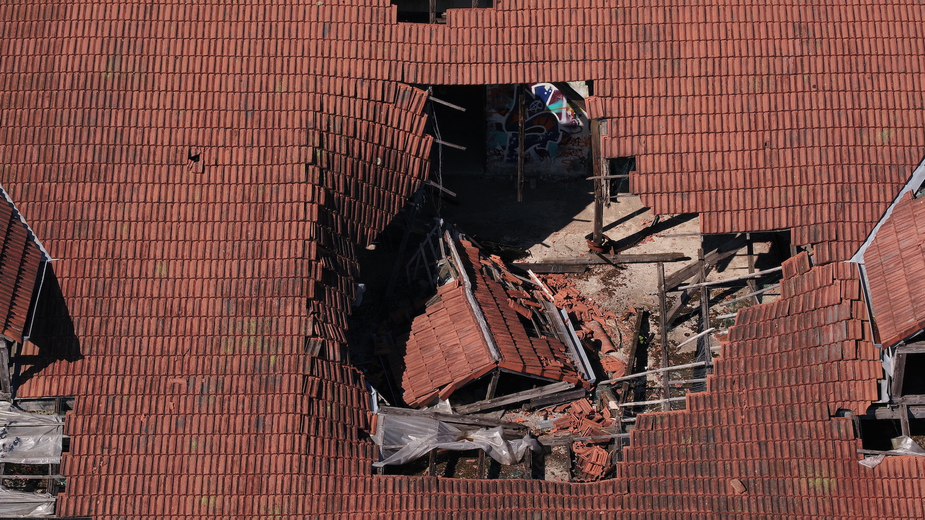 Dachinspektion per Drohne