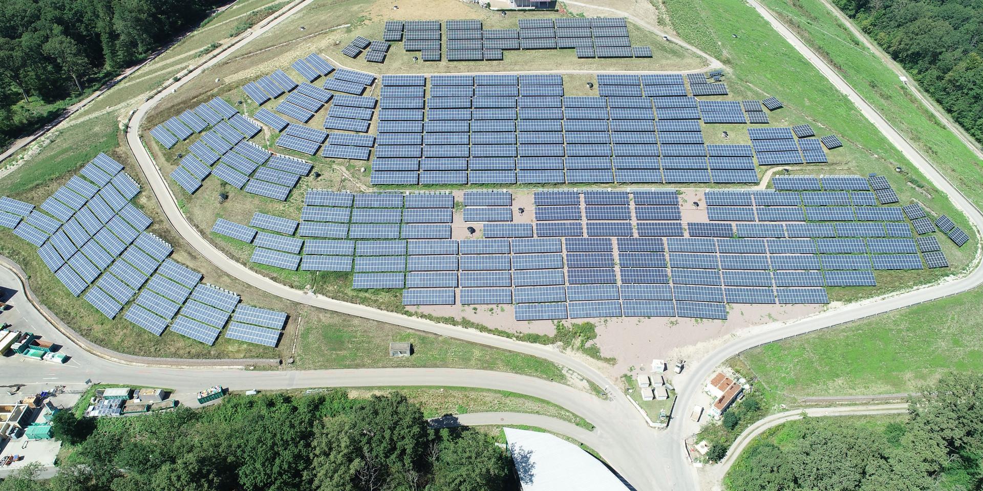 Inspektion von Solaranlagen
