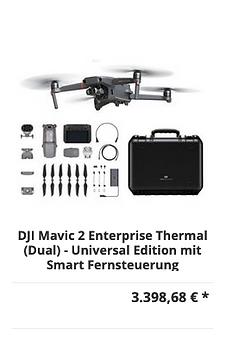 DJI Mavic 2 Enterprise Thermal (Dual) Sm