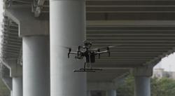 Brückeninspektion per Drohne
