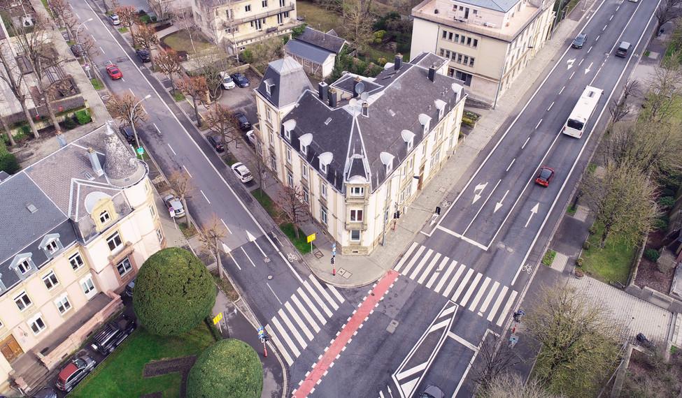 Luftbild Luxembourg