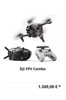 DJI FPV Combo - SaarDrones