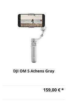 DJI OM 5 Athens Gray