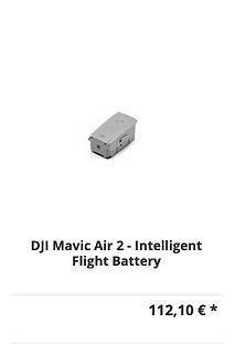 DJI Mavic Air 2 Intelligent Flight Batte