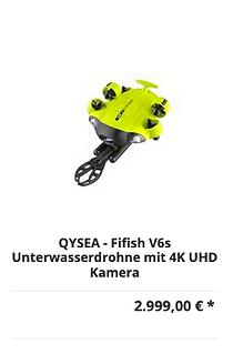 Unterwasserdrohne V6s