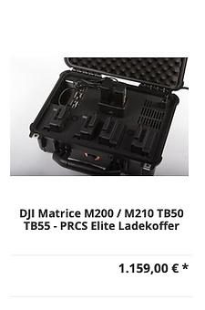 DJI Matrice M200 / M210 TB50 TB55 - PRCS