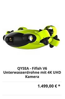 Unterwasserdrohne V6