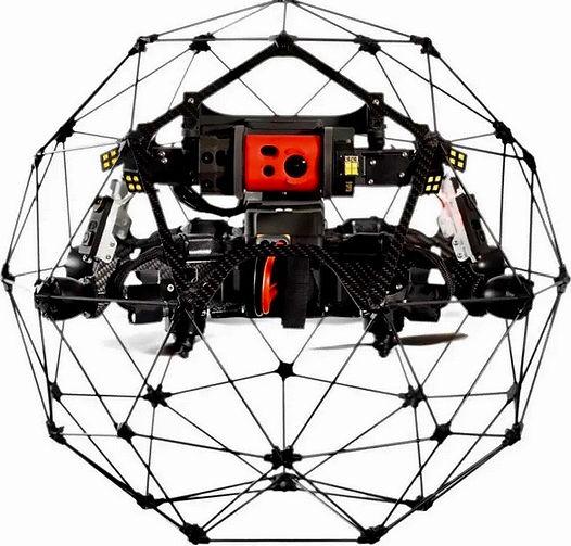 CopterTech Drohnenservice mittels Flyability Elios 2