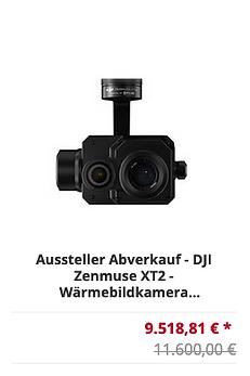 DJI Zenmuse XT 2 Wärmebildkamera